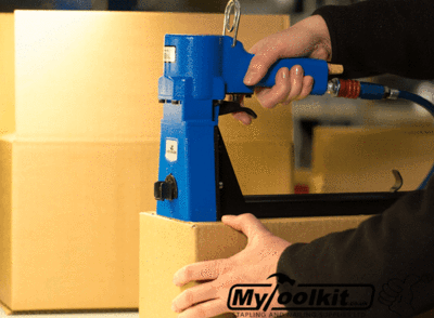 Cordless Container Closer - Battery Leading Stapler